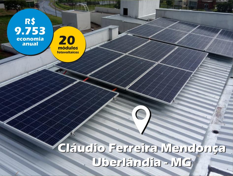 Cláudio Ferreira de Mendonça / Uberlândia MG