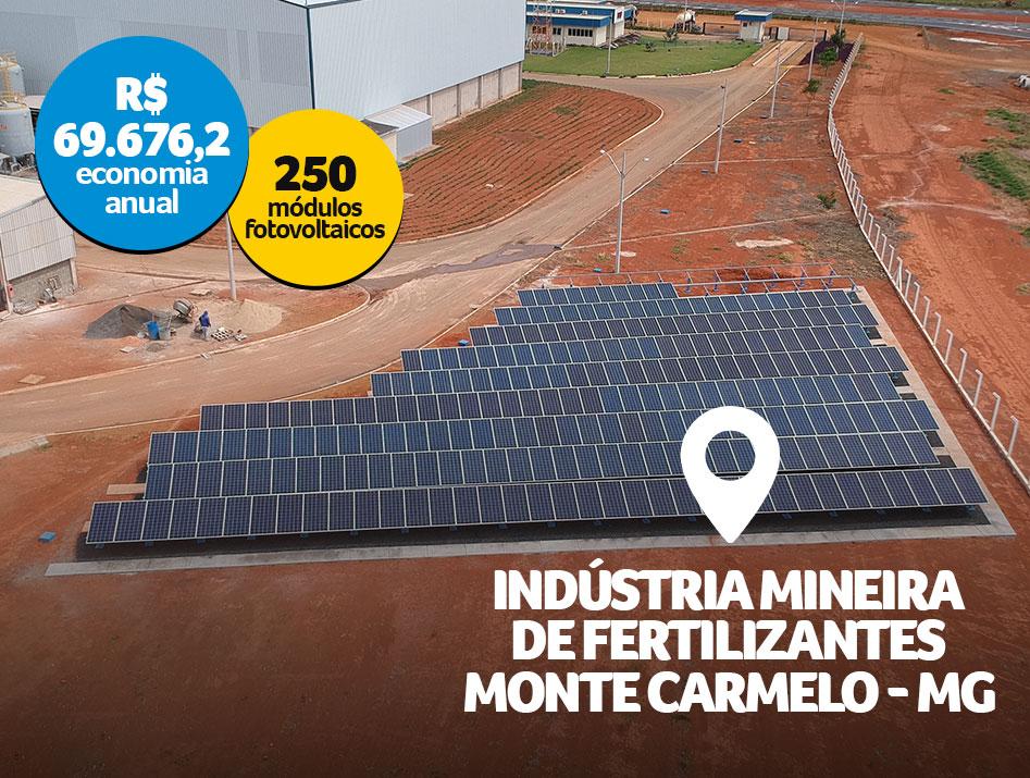 Indústria Mineira de Fertilizantes / Monte Carmelo – MG