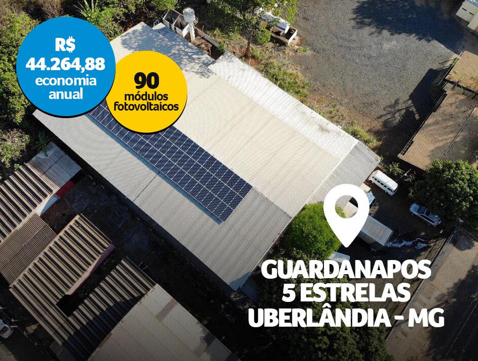 Guardanapos 5 Estrelas / Uberlândia – MG