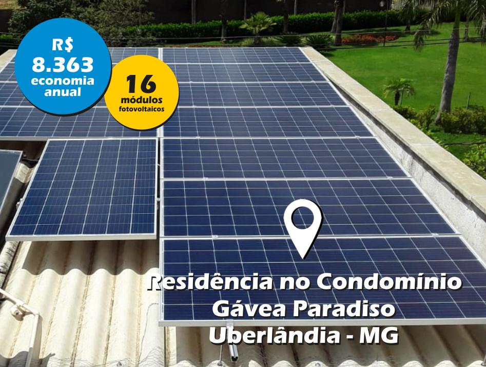 Residência no Gávea Paradiso / Uberlândia MG