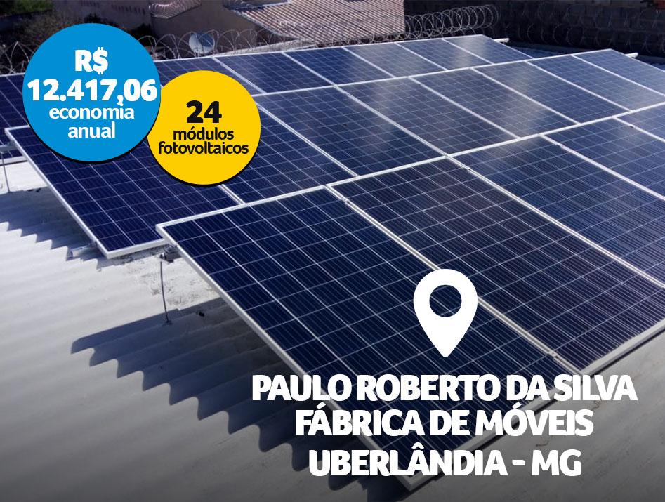 Paulo Roberto da Silva – Fábrica de Móveis / Uberlândia – MG